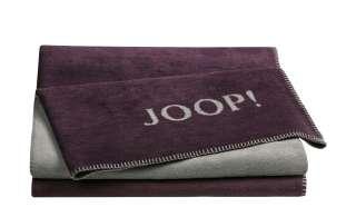 JOOP! Wohndecke  Joop! Uni-Doubleface ¦ lila/violett ¦ 58% Baumwolle 35% Polyacryl, 7% Polyester ¦ Maße (cm): B: 150 Heimtextilien > Kuscheldecken - Höffner