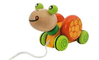 Eichhorn Nachzieh-Schildkröte ¦ mehrfarbig ¦ Birke massiv, lackiert Baby > Spielen > Lernspielzeug - Höffner