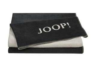 JOOP! Wohndecke  Joop! Uni-Doubleface ¦ grau ¦ 58% Baumwolle 35% Polyacryl, 7% Polyester ¦ Maße (cm): B: 150 Heimtextilien > Kuscheldecken - Höffner