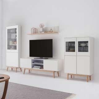 Garderobenpaneel Geestland - Pinie Weiß Dekor, Maison Belfort