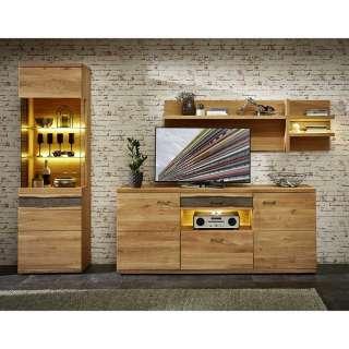 EEK A+, TV-Lowboard Ranya - Canyon White Pinie Dekor, Trendteam