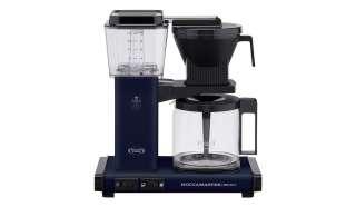 Moccamaster Kaffeautomat  KBG Select Midnight Blue ¦ blau ¦ Glas , Metall-lackiert, Kunststoff ¦ Maße (cm): B: 32 H: 36 T: 17 Elektrokleingeräte > Kaffee & Espressomaschinen - Höffner