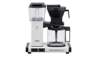 Moccamaster Kaffeautomat  KBG Select Off-white ¦ weiß ¦ Glas , Metall-lackiert, Kunststoff ¦ Maße (cm): B: 32 H: 36 T: 17 Elektrokleingeräte > Kaffee & Espressomaschinen - Höffner