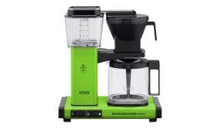 Moccamaster Kaffeautomat  KBG Select Fresh Green ¦ grün ¦ Glas , Metall-lackiert, Kunststoff ¦ Maße (cm): B: 32 H: 36 T: 17 Elektrokleingeräte > Kaffee & Espressomaschinen - Höffner