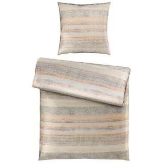 Pouf Raposa I - Wolle - Creme / Gelb, Eva Padberg Collection