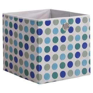 FALTBOX Textil Blau, Grau, Türkis