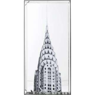 Bild Mirror Chrysler Building 120x60cm