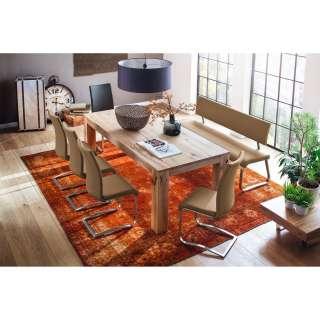 CARRYHOME BARHOCKER Textil Grün