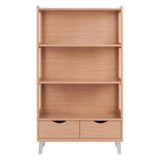 Bücherregal in Buchefarben 160 cm hoch