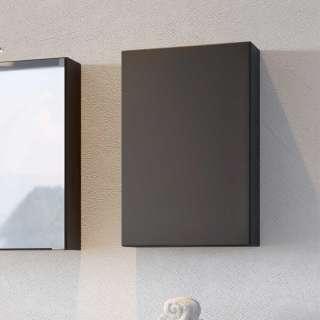 Bad Hängeschrank in Dunkelgrau 40 cm breit