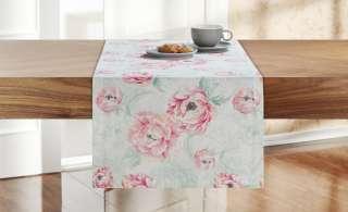 LAVIDA Tischläufer  Ranunkel ¦ rosa/pink ¦ 100% Baumwolle ¦ Maße (cm): B: 40 Heimtextilien > Tischwäsche > Tischläufer - Höffner