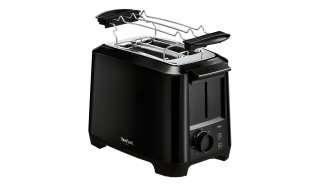 Tefal Toaster  TT 1408 ¦ schwarz ¦ Maße (cm): B: 30 H: 21 T: 21,5 Elektrokleingeräte > Toaster - Höffner