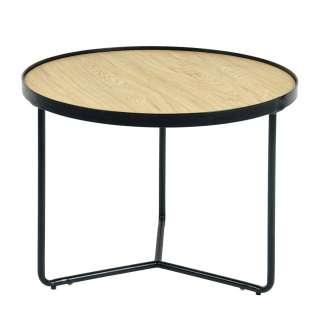 Esstisch mit Stühlen aus Buche Massivholz Edelstahl Schwarz Kunstleder (5-teilig)