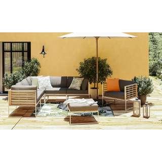 home24 Gartensessel Teakline Exklusiv