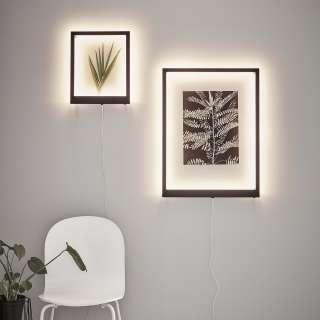 home24 LED-Wandleuchte Frame I