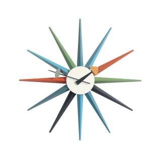 Vitra - Sunburst Clock - mehrfarbig - indoor