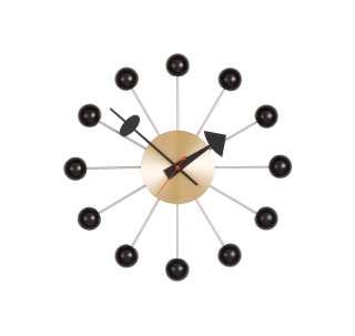 Vitra - Ball Clock - schwarz - indoor
