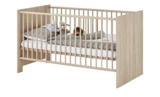 Babybett  Max ¦ holzfarben ¦ Maße (cm): B: 78 H: 83 Baby > Babymöbel > Babybetten - Höffner