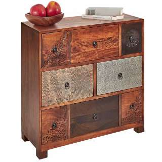 Apothekerkommode im Vintage Design acht Schubladen