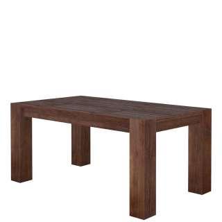 Echtholztisch aus Akazie Massivholz lackiert