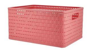 Aufbewahrungsbox ¦ rosa/pink ¦ Kunststoff ¦ Maße (cm): B: 36,8 H: 27,8 T: 19,1 Regale > Regal-Aufbewahrungsboxen - Höffner