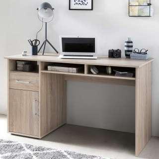 Schreibtisch in Sonoma Eiche 125 cm breit