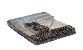 Biederlack Cashmere Plaid  Striped Check ¦ lila/violett ¦ 80% Wolle, 20% Cashmere ¦ Maße (cm): B: 130 Heimtextilien > Kuscheldecken - Höffner