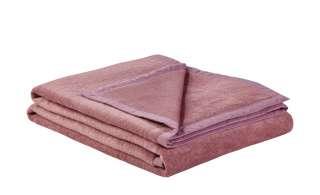 LAVIDA Wohndecke  Catharina ¦ rosa/pink ¦ 60% Baumwolle, 40% Polyacryl  ¦ Maße (cm): B: 150 Heimtextilien > Kuscheldecken - Höffner