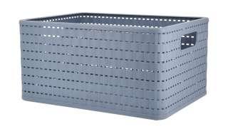 Aufbewahrungsbox ¦ blau ¦ Kunststoff ¦ Maße (cm): B: 36,8 H: 27,8 T: 19,1 Regale > Regal-Aufbewahrungsboxen - Höffner