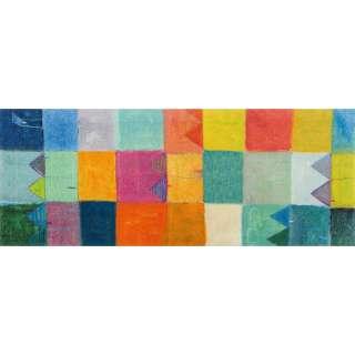 FUßMATTE 80/200 cm Graphik Multicolor