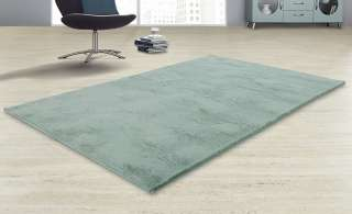 Hochflorteppich  Felpa ¦ grün ¦ Synthethische Fasern, 100% Polyester ¦ Maße (cm): B: 160 Teppiche > Wohnteppiche > Hochflorteppiche - Höffner