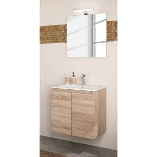 Doppelrollo Truro - Kunststoff / Kunstfaser - Cremeweiß / Weiß - 100 x 150 cm, Furnitive