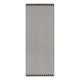 Wendeteppich Mosta - Kunstfaser - Grau - Ø 140 cm, Bougari