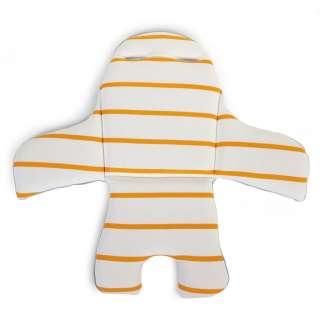 HOCHSTUHLEINLAGE  Ochre Stripes  Childhome Sitzkissen Evolu
