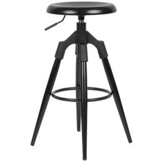 Innovation STYLO Tisch, Ø 45cm Platte Schwarz, Höhe 32,5cm,