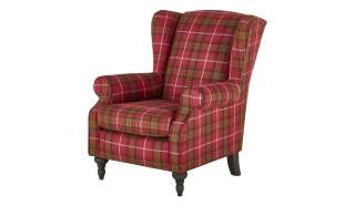 Ohrensessel  Lodge ¦ rot ¦ Maße (cm): B: 83 H: 102 T: 87 Polstermöbel > Sessel > Ohrensessel - Höffner