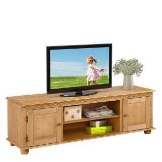 Kiefer TV Lowboard massiv gebeizt und geölt 160 cm breit