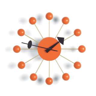 Vitra - Ball Clock - orange - indoor