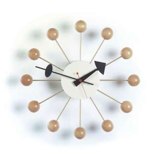 Vitra - Ball Clock - natur - indoor