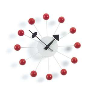 Vitra - Ball Clock - rot - indoor