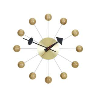 Vitra - Ball Clock - Kirschholz natur - indoor