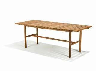 Skargaarden - Djurö Tisch - Teakholz - 200 x 73 cm - outdoor