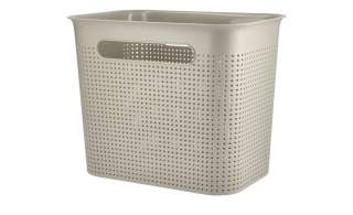 Aufbewahrungsbox ¦ beige ¦ Kunststoff ¦ Maße (cm): B: 26 H: 21 T: 18 Regale > Regal-Aufbewahrungsboxen - Höffner