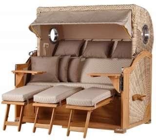 Max Winzer® 2-Sitzer Sofa »Flip« mit dekorativer Keder-Verzierung, inklusive Zierkissen