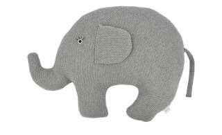 Kuscheltier  Little Elefant ¦ grau ¦ Füllung aus 100% Polyester, Bezug aus 100% Baumwolle (gehäkelt) ¦ Maße (cm): B: 44 H: 35 Baby > Baby Textilien > Baby Bettwaren - Höffner