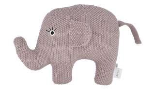 Kuscheltier  Little Elefant ¦ rosa/pink ¦ Füllung aus 100% Polyester, Bezug aus 100% Baumwolle (gehäkelt) ¦ Maße (cm): B: 20 H: 16 Baby > Baby Textilien > Baby Bettwaren - Höffner
