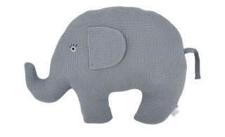 Kuscheltier  Little Elefant ¦ blau ¦ Füllung aus 100% Polyester, Bezug aus 100% Baumwolle (gehäkelt) ¦ Maße (cm): B: 44 H: 35 Baby > Baby Textilien > Baby Bettwaren - Höffner