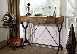 Schreibtisch Teak 101x46x86 natur lackiert 1920sORIGINAL #114