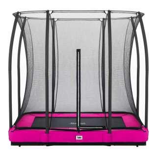 Trampolin Salta Comfort Ground 214/153 cm Pink