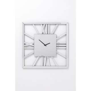 Wanduhr Specchio Square 60x60cm